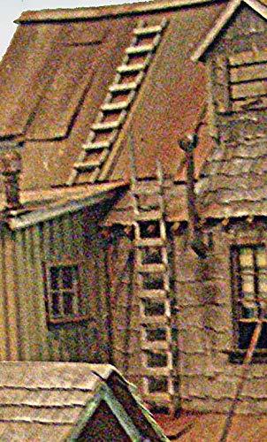 O KIT Laser-Cut Wooden Ladders (4)