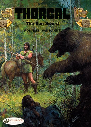 Thorgal - tome 10 The Sun Sword (10)