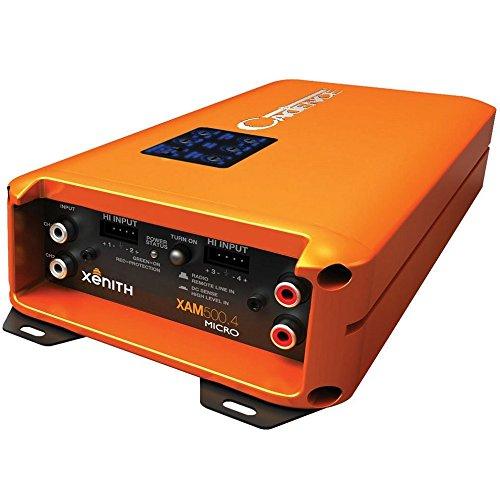 Cadence XAM500.4 1000W 4-Channel Xenith XAM Series Class D Full Range Amplifier