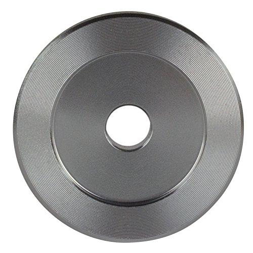 Adaptador de 45 RPM para tocadiscos (aluminio, 17,7 cm): Amazon.es ...