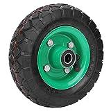 Neumático inflable Resistente al desgaste Neumático de rueda de 6 pulgadas Neumático de carro de carro de grado industrial 250 kg 36 psi, para una variedad de carros de herramientas, con patrones anti