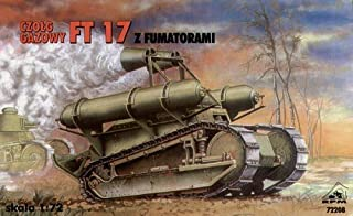 1/72 scale (WWI & WWII) FT 17 French Renault smoke sreen tank