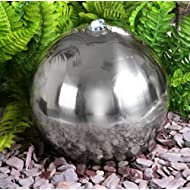 Stainless Steel Sphere Powered Feature