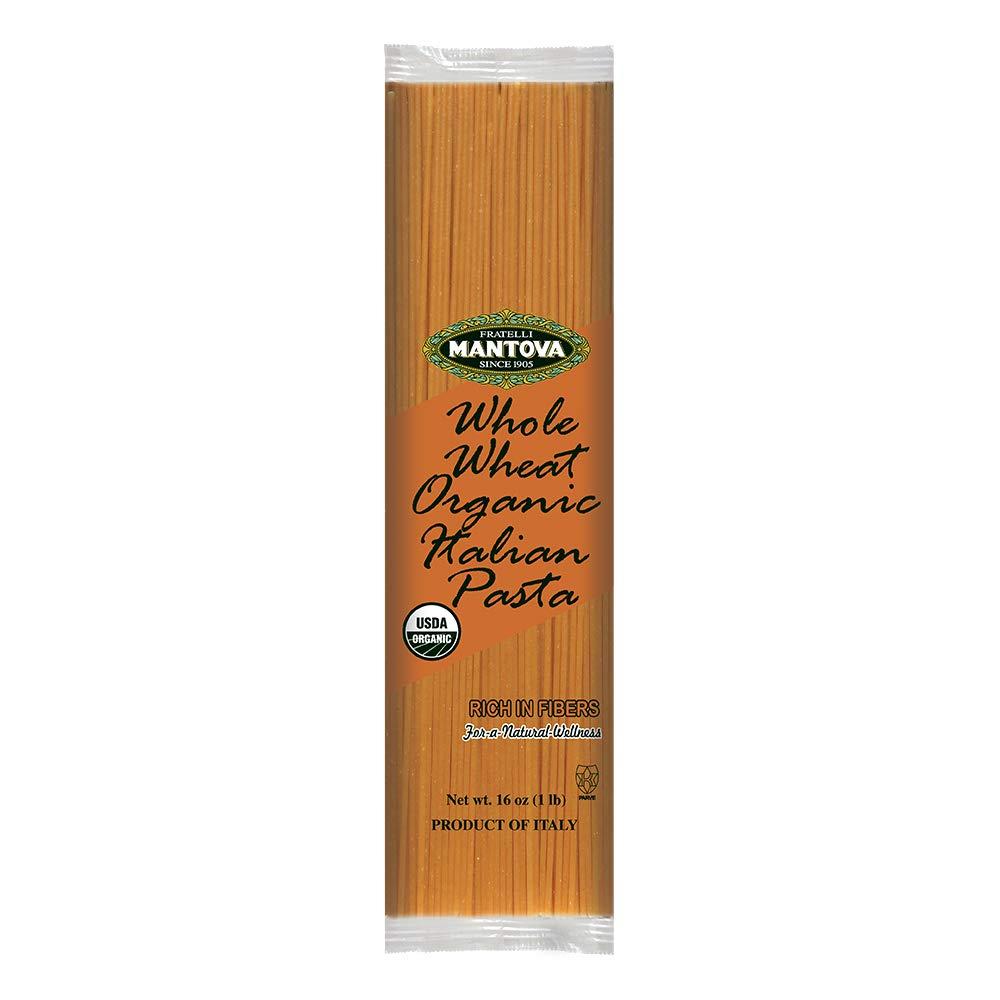 Mantova Italian Organic Whole Wheat Pasta - Spaghetti Durum Chicago Mall Product 100%