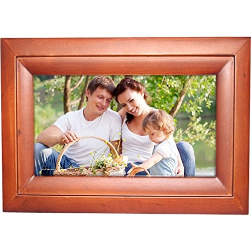 Internet Photo Frame Easyshare 10-Inch Digital Picture Frame with Wireless Capability Elegant Wood Frame