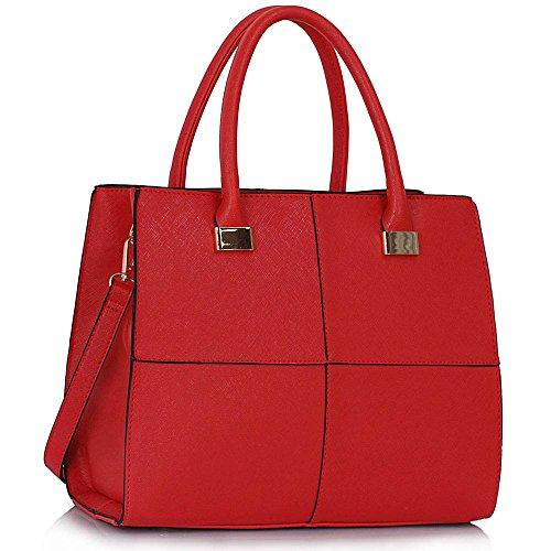 TrendStar, Borsa a spalla donna Rosso rosso