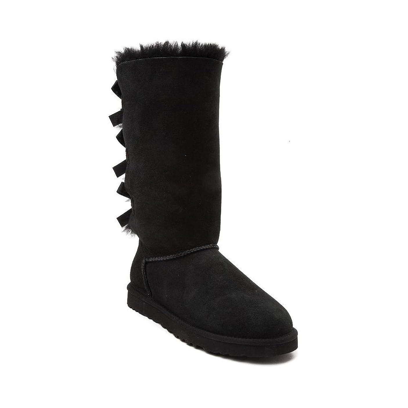 ボット硬さにもかかわらず[UGG(アグ)] 靴?シューズ レディースブーツ Womens UGG Bailey Bow II Tall Boot [並行輸入品]
