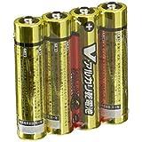 オーム OHM Vアルカリ電池単4形 4本パック LR03/S4P/V