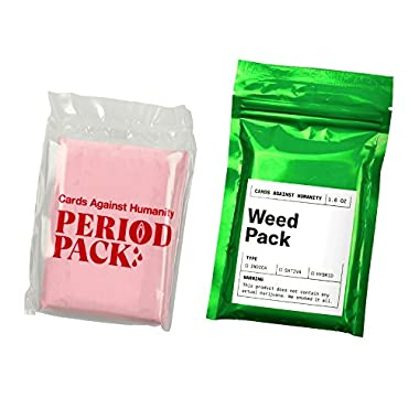 Cards Against & Humanity  WEED & PERIOD  Expansion Packs
