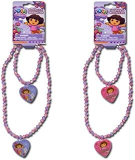 Dora Necklace and Bracelet Set -1set