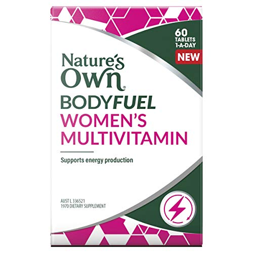 Nature's Own Bodyfuel Women's Multivitamin - Supports Energy Production - Relieves PMS Symptoms, 60 Tablets