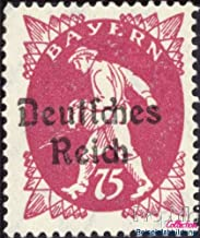 German Empire 127I, Loose Sole Boots 1920 Bavaria-Farewell (Stamps for Collectors)
