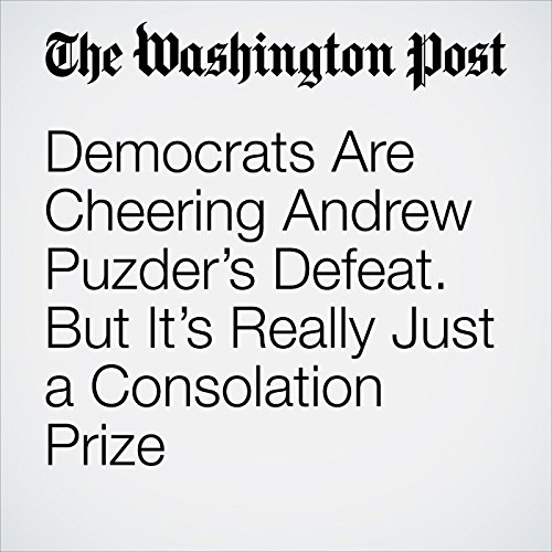 Democrats Are Cheering Andrew Puzder's Defeat. But It's Really Just a Consolation Prize. copertina