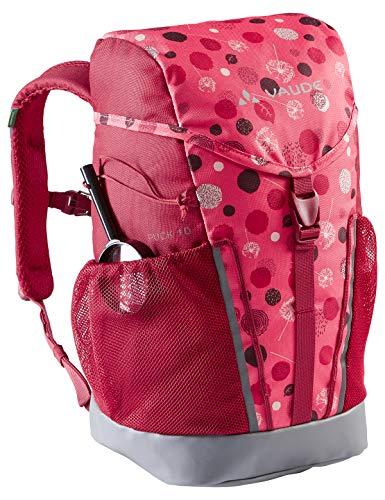 VAUDE Kinder Puck 10 Rucksäcke10-14L, Bright pink/Cranberry, Einheitsgröße