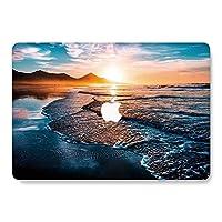 Jiehb MacBook Pro 16インチケース 2019年発売 A2141 プラスチックハードシェルMacBook Pro 16インチRetinaディスプレイタッチバータッチIDモデル:A2141 - サンセット