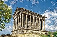 大人のためのガーニ神殿エレバンアルメニアジグソーパズル1000ピース木製旅行ギフトお土産