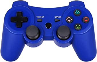Game Controller for PS3 - Wireless Dual Vibration 3 KLNO Gamepad, Best Gifts for Kids, Son and Father in Family Playing wi...