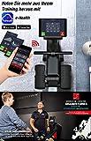 Sportstech RSX500 Rudergerät – Deutsche Qualitätsmarke -Video Events & Multiplayer APP – inkl. Pulsgurt (im Wert von: 39,90) – 16 Programme – Magnetwiderstand – Wettkampfmodus – klappbar - 4