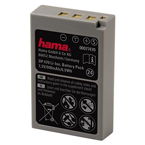 Hama Batería de Ion de Litio para Olympus Stylus 1/1s, E-PL5/E-PL6/E-PL7, E-M10/E-M10 Mark II, Equivalente a Olympus BLS-50