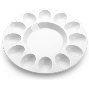 BIA Cordon Bleu Porcelain Egg Plate White 905353