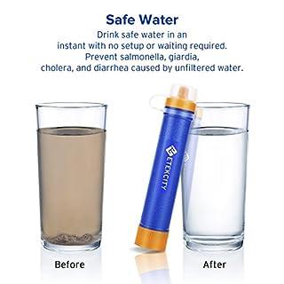 اسعار Etekcity المحمولة تصفية المياه لتنقية القش تنقية