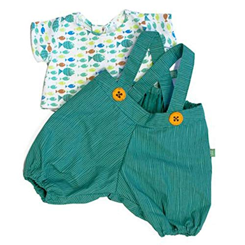 Rubens Barn Kleidung Party Collection - Little Harry / 1 x grüne Hose mit bunt gemustertem Shirt