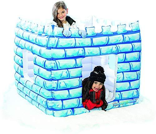 SNOWCANDY Inflatable Waterproof Mega Snow Castle