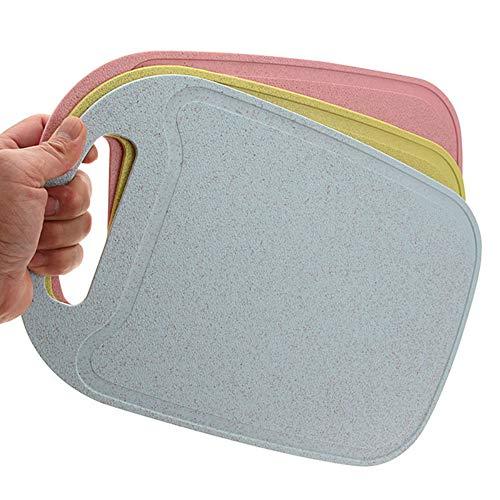 Three-piece Plastic Cutting Board Flexible Plastic Cutting Board Set Kitchen Cutting Board