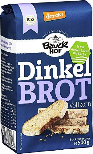Bauckhof Bio Bauck Demeter Dinkelbrot (6 x 500 gr)