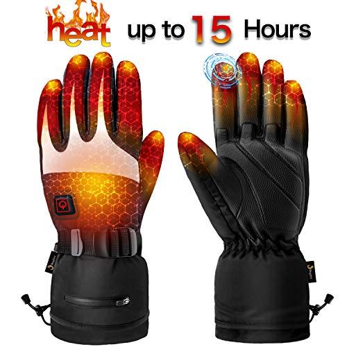 Begleri Heated Gloves for Men Women - Electric Heating Gloves (Large)