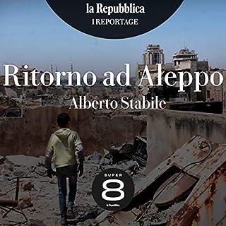 Ritorno ad Aleppo copertina