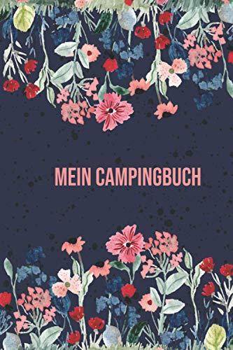 Mein Campingbuch: Camping Reisetagebuch Wohnwagen   Wohnmobil   Zelt A5 Logbuch für Reisen Perfektes Reise Zubehör für Reisen durch Norwegen, ... für WoMo, Camper, Reisemobil oder Zelt.