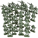 ArtCreativity Little Green Army Men Toy Soldiers, Bulk Pack of 144 Military Toys Figurines, Plastic Army Guys Playset, Action Figures in Assorted Poses, Fun Gift and Party Favors for Boys and Girls