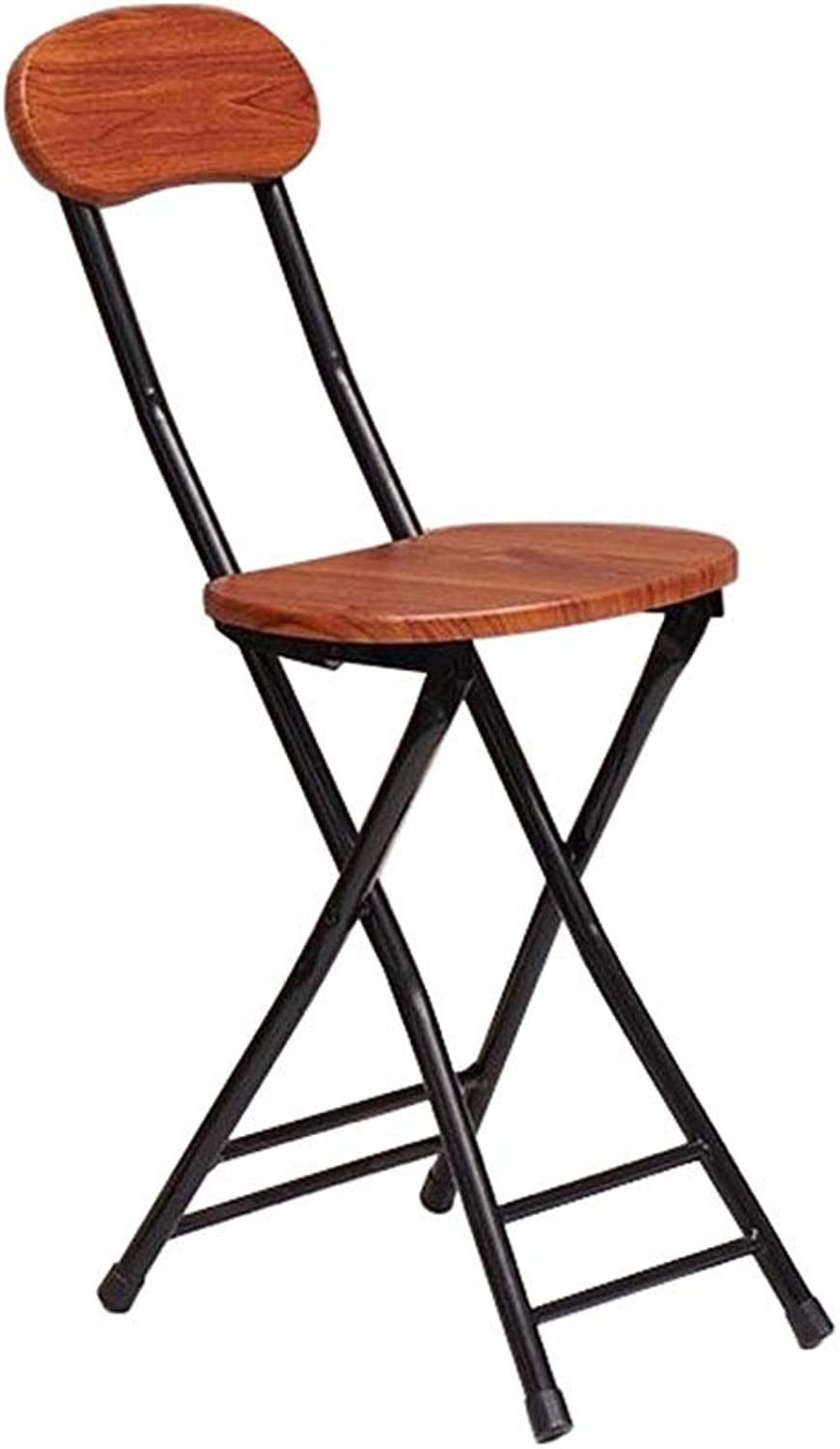 Folding Dining Chair High Back Tall Chairs Home Breakfast Kitchen Bar Counter Stool