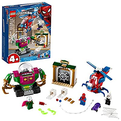 LEGO Marvel Spider-Man The Menace of Mysterio 76149 Cool Superhero Action Playset with Ghost Spider Minifigure, New 2020 (163 Pieces) from LEGO