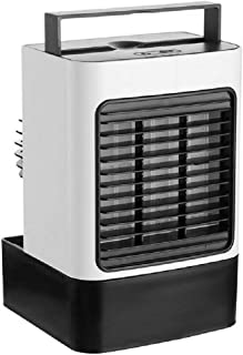 Air Cooler, Compact Portable Air Conditioner with Fan Filter Humidifier Ice Crystal Box Remote Control, Evaporative Cooler...