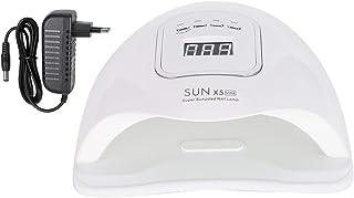 Uxsiya Lámpara de uñas de Gel 150W Secador de uñas Polaco Manicura Dispositivo de luz(110~240V, European Standard)