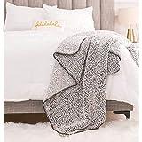 "RECYCO Super Soft Sherpa Fleece Throw Blanket for Couch, Luxury Warm Thick Sherpa Blanket, Lightweight Cozy Fuzzy Fluffy Winter Fleece Blanket Throw for Bed, Sofa, 50"" x 60"", Dark Grey"