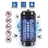 Elektrischer Insektenvernichter, UV Insektenvernichter Mückenlampe Insektenfalle Mückenlampe KeinLärm Fliegenfalle Elektro Mückenfalle Chemiefrei, Elektrisch