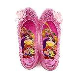 [コマリョー] 7131 Disney ディズニー プリンセス ガラスの靴 サンダル (16cm, 01(ピンク))