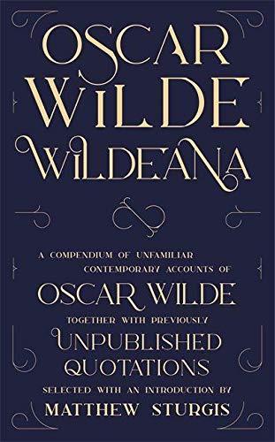 Wildeana (riverrun editions)