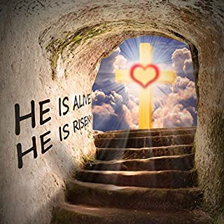 Vinyl 8x8ft The Stairs to Heaven Backdrop Photograph Background Cross of Jesus Christian Holy Spirits Christ Child Lord Pray Church Event Wallpaper Newborn Baby Children Portraits