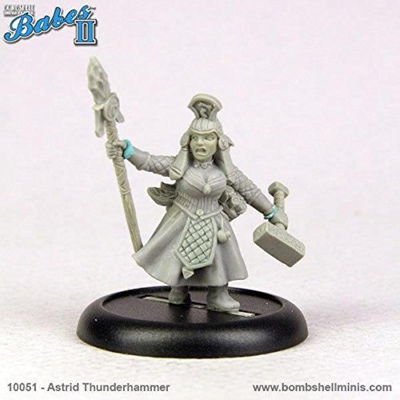 ペアホスト勝利したBombshell 32mm Scale Miniatures: Astrid Thunderhammer