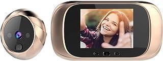 comprar comparacion OWSOO Mirilla Digital con Pantalla LCD de 2.8 Pulgadas, Visor Mirilla Puerta, Soporte Vision Nocturna, Tomas de Fotos para...