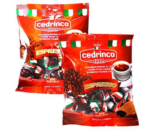 Cedrinca - Espresso Hard Candies, Two (2)- 4.25 oz. bags