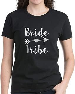CafePress Bride Tribe Funny Brid T Shirt Cotton T-Shirt