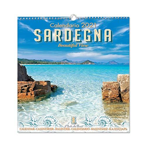 Calendario da muro Sardegna 2021 f.to 32,5 x 33,5 cm (mod.04)