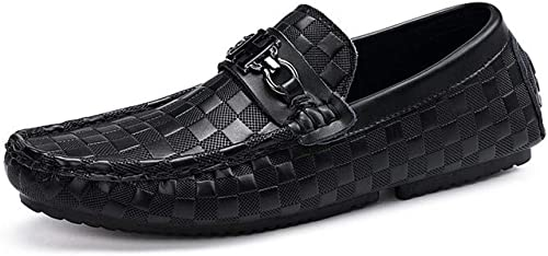 Hy Herrenschuhe 2019 Frühjahr Fall Neue Herren-Casual-Peas-Schuhe, Loafers & Slip-Ons Lazy Schuhe, Flat Slip-Ons Driving schuhe, Formale Business schuhe, Office & Career,d,41