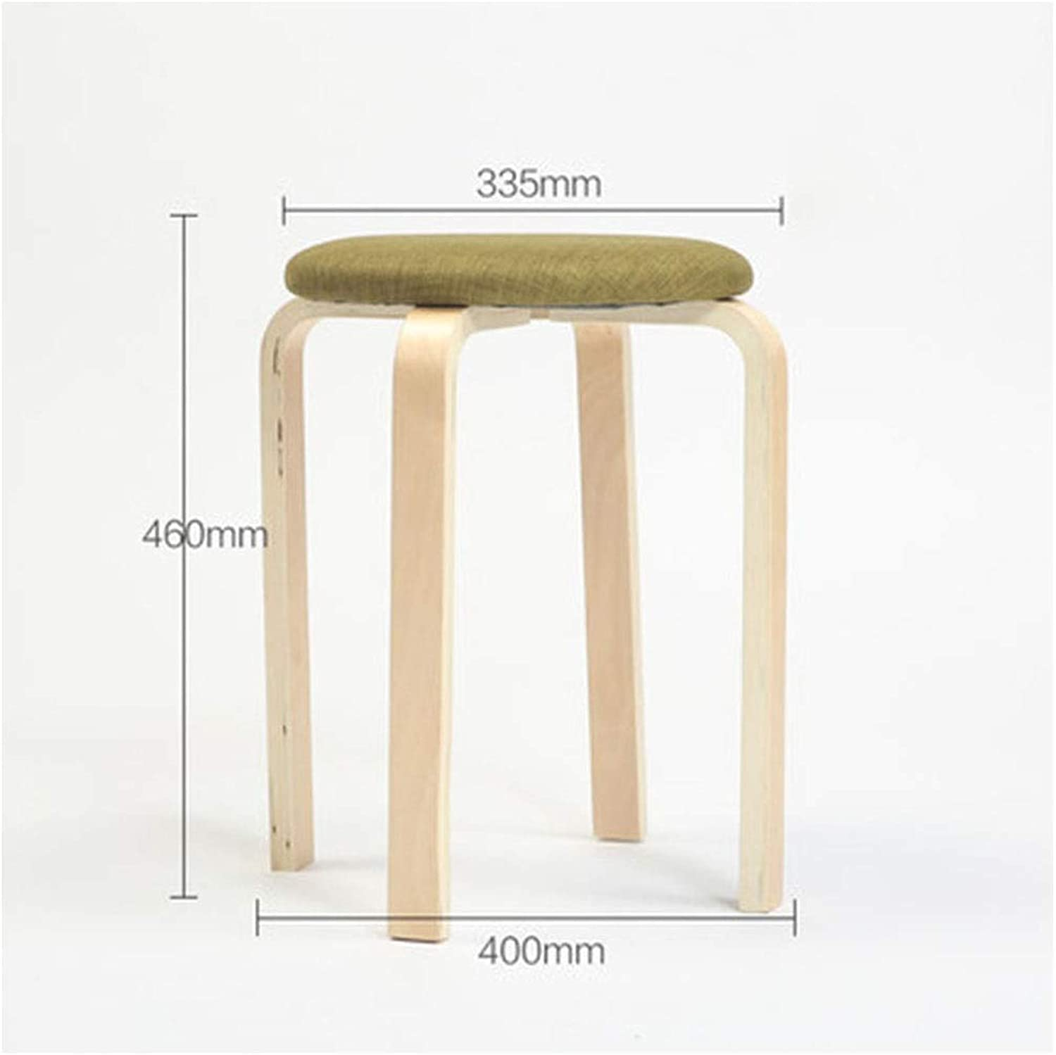 Stools- Wooden Bench- Stool Fashion Creative Home Stool Small Bench Wooden Bench Dining Table Stool Living Room Stool HATHOR-23 (color   F)