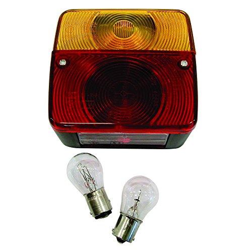 Carpoint 0413919 Feu arrière 4 Fonctions + Ampoules